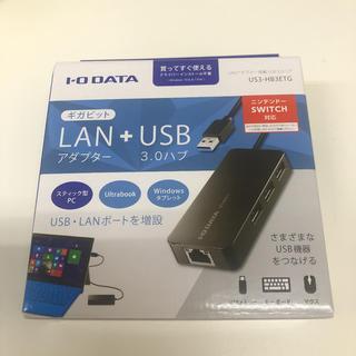 アイオーデータ(IODATA)のI・O DATA LANアダプター US3-HB3ETG(PC周辺機器)