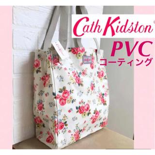 Cath Kidston - 【新品タグ付】キャスキッドソン 花柄トートバッグ 送料無料