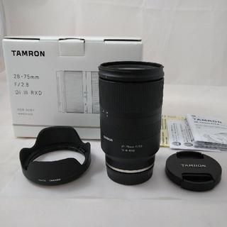 TAMRON - タムロン Tamron 28-75mm F/2.8 DiII RXD(A036)