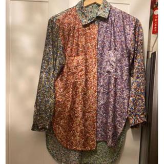 コムデギャルソン(COMME des GARCONS)のパッチワークシャツ ブラウス 美品 古着(シャツ/ブラウス(長袖/七分))