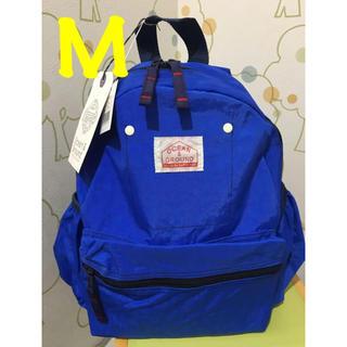 マーキーズ(MARKEY'S)のブルー M オーシャンアンドグラウンド リュック 新品(リュックサック)