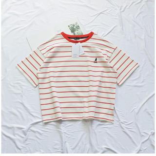 カンゴール(KANGOL)のKANGOL(カンゴール)マルチボーダーTシャツ(Tシャツ(半袖/袖なし))