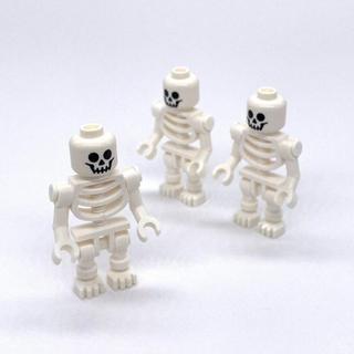 Lego - 【新品】LEGO ミニフィグ ガイコツ 3体