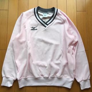 ミズノ(MIZUNO)のMIZUNO ミズノ トレーナー Vネック ユニ S ベビーピンク テニス(ウェア)