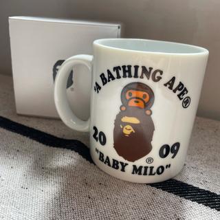 アベイシングエイプ(A BATHING APE)のA BATHING APE マグカップ 2009(グラス/カップ)