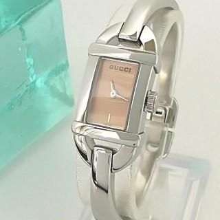 Gucci - 綺麗 グッチ 新品仕上げ 希少 オレンジ色 レディース ウォッチ 腕時計 極美品