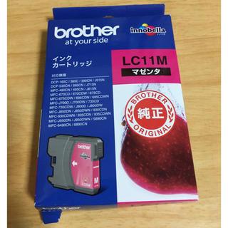 ブラザー(brother)のbrother インク LC11M マゼンタ innobella 未開封 箱破れ(PC周辺機器)