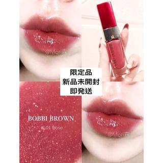 ボビイブラウン(BOBBI BROWN)のボビイブラウン リュクスリキッドリップ リッチメタル フローゼ 限定(口紅)
