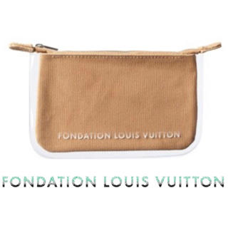 LOUIS VUITTON - ★新品★FONDATION LOUIS VUITTON Camel Clutch