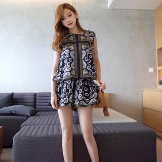 ディーホリック(dholic)のミンスショップ  セットアップ ショートパンツ 韓国ファッション(セット/コーデ)
