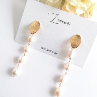 Chesty - 【新作♡】4連淡水真珠のロングピアス