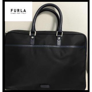 フルラ(Furla)の【送料無料】フルラ ビジネスバッグ メンズ 黒/ネイビー ショルダー(ビジネスバッグ)