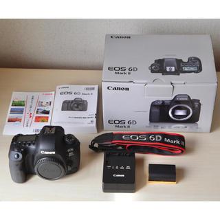 Canon - Canon EOS 6D Mark Ⅱ ボディ美品