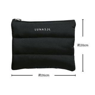 LUNASOL - ルナソル  ふかふかクッションポーチ 大容量