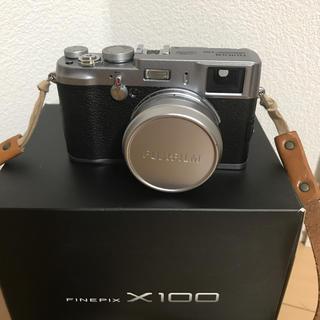 フジフイルム(富士フイルム)の富士フィルム fujifilm finepix x100(コンパクトデジタルカメラ)