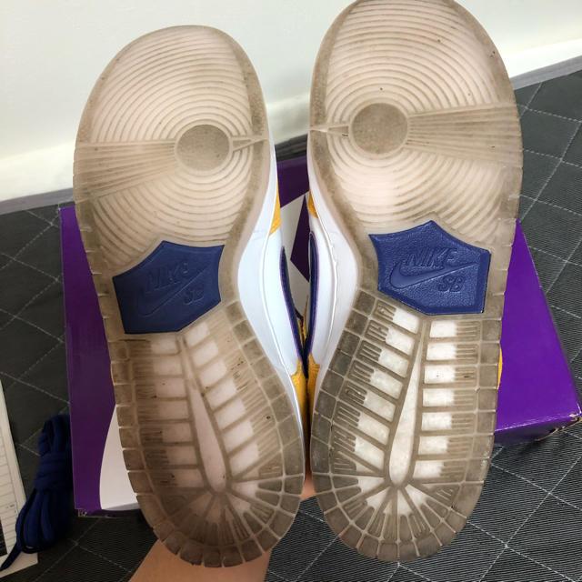 """NIKE(ナイキ)のNIKE SB DUNK LOW """"LASER ORANGE"""" メンズの靴/シューズ(スニーカー)の商品写真"""