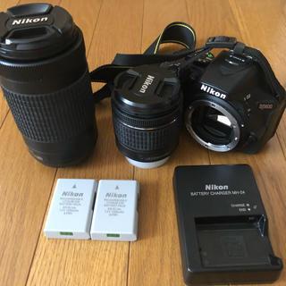 Nikon - デジタル一眼レフカメラ Nikon D5600 ダブルズームキット