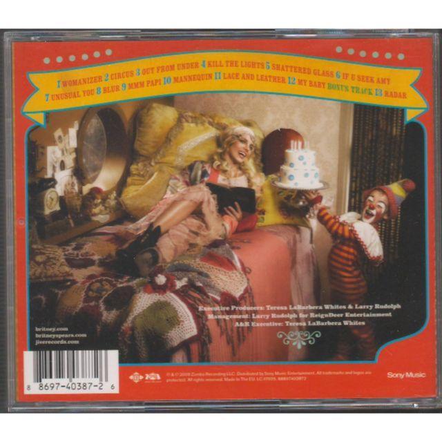 ★ 輸入盤 ★ Britney Spears - Circus★ エンタメ/ホビーのCD(ポップス/ロック(洋楽))の商品写真