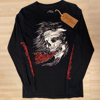 テンダーロイン(TENDERLOIN)の人気品! TENDERLOIN 長袖 Tシャツ ロンT TEE LHS 黒 S(Tシャツ/カットソー(七分/長袖))