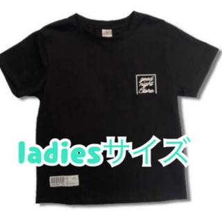 goodnight5tore Tシャツ レディースフリーサイズ 筆記体 最新