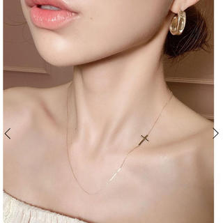 eimy istoire - K10 crossed necklace