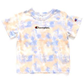 チャンピオン(Champion)のchampion kids タイダイロゴTシャツ(Tシャツ/カットソー)