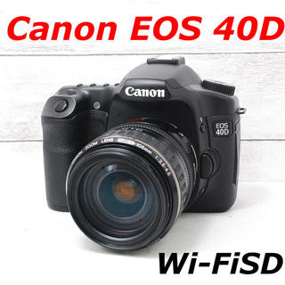Canon - ❤️カメラバッグ付き❤️スマホ転送❤️Canon EOS 40D