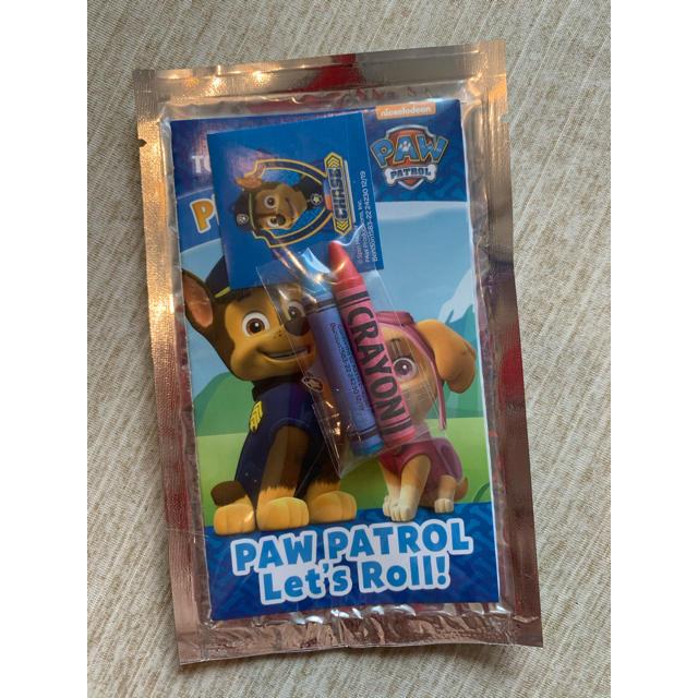 日本未発売パウパトロール ミニぬりえセット  キッズ/ベビー/マタニティのおもちゃ(知育玩具)の商品写真