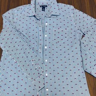 ギャップ(GAP)のGAP ストライプシャツ(シャツ/ブラウス(長袖/七分))