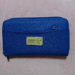 スヌーピー(SNOOPY)のスヌーピー長財布★ロイヤルブルー(財布)