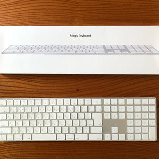 マック(Mac (Apple))のmagic keyboard(テンキー付き)日本語(JIS) 訳あり(PC周辺機器)