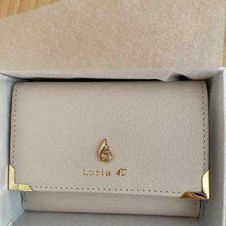 ヨンドシー(4℃)のluria4℃  ミニ財布(財布)