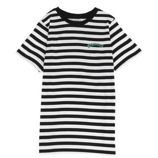 プニュズ(PUNYUS)の渡辺直美プロデュース!punyus ワンポイントボーダーTシャツ 大きいサイズ(Tシャツ(半袖/袖なし))