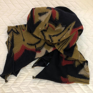 フォーティファイブアール(45R)のpal'las palas/ ジャガード織り ショール (マフラー/ショール)