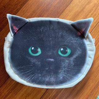 FELISSIMO - フェリシモ 猫部 黒猫ポーチ  未使用