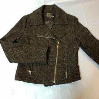 エムプルミエ(M-premier)のMプルミエ  エムズセレクト ライダースジャケット 34サイズ(ライダースジャケット)