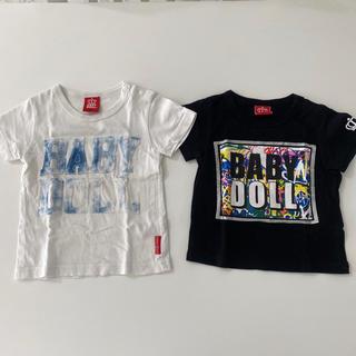 ベビードール(BABYDOLL)のBABYDOLL 半袖 Tシャツ 80cm 2 着セット(Tシャツ)
