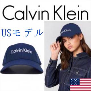 カルバンクライン(Calvin Klein)のレア【新品】Calvin Klein USA キャップ 帽子 ネイビー(キャップ)
