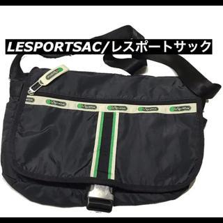 レスポートサック(LeSportsac)のLESPORTSAC/レスポートサックのショルダーバック★男女兼用ブラック(ショルダーバッグ)