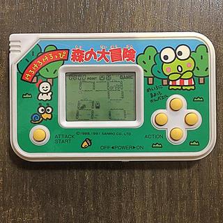 バンダイ(BANDAI)のけろけろけろっぴ 森の大冒険 ゲームウォッチ(家庭用ゲームソフト)