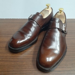 ヤンコ(YANKO)の[美品] ヤンコ YANKO   モンクストラップ 革靴 レザー(ドレス/ビジネス)