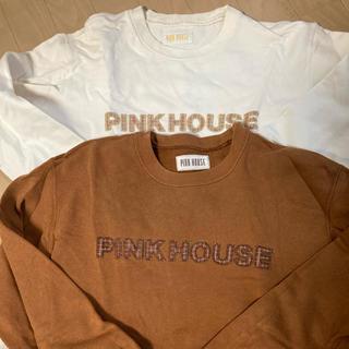 ピンクハウス(PINK HOUSE)のはむこ様専用、ピンクハウス白トレーナー(トレーナー/スウェット)