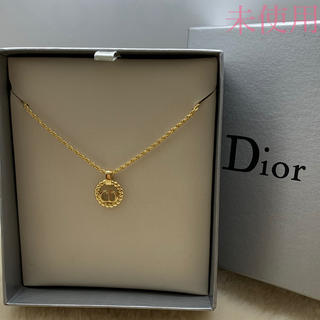 Christian Dior - 未使用 クリスチャン ディオール CDロゴネックレス/ゴルード