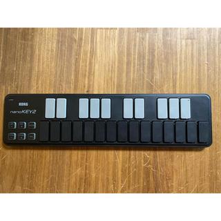 コルグ(KORG)のKORG  nanoKEY2 ブラック(MIDIコントローラー)