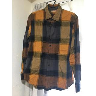 GU - GU☆チェックシャツ ネルシャツ