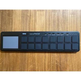 コルグ(KORG)のKORG  nanoPAD2 ブラック(MIDIコントローラー)