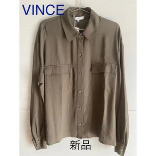 ビンス(Vince)の【新品未使用】VINCE シャツ(シャツ/ブラウス(長袖/七分))