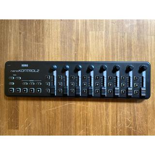 コルグ(KORG)のKORG  nano kontrol2 ブラック(MIDIコントローラー)