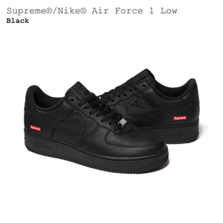 Supreme - supreme nike airforce1 low 27.5cm black