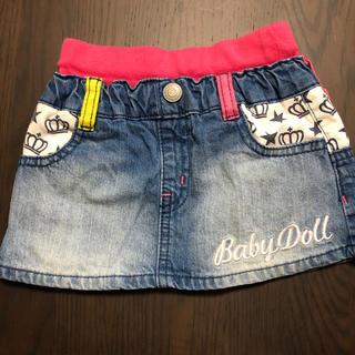 ベビードール(BABYDOLL)のBabyDollミニスカート100cm(スカート)